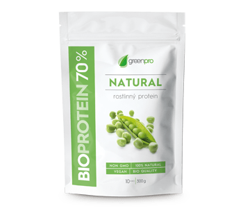 PROTEIN_1x_NATURAL_350x320px Akce: BioProtein 70 % GreenPro natural